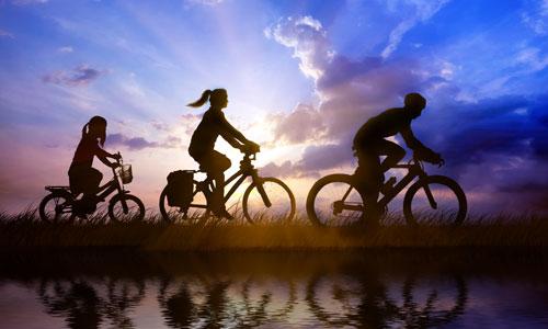 Ποδήλατο με την οικογένεια στο Βουνό